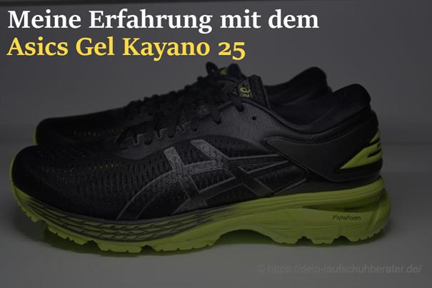 Asics Gel Kayano 25 Test - Was bietet die 25. Generation des Asics ...