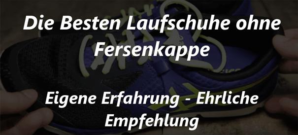Laufschuhe und die Fersenkappe Dein Laufschuhberater