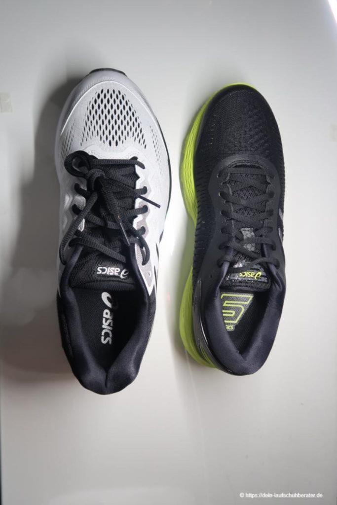 Zwei der aktuell besten Laufschuhe für breite Füße