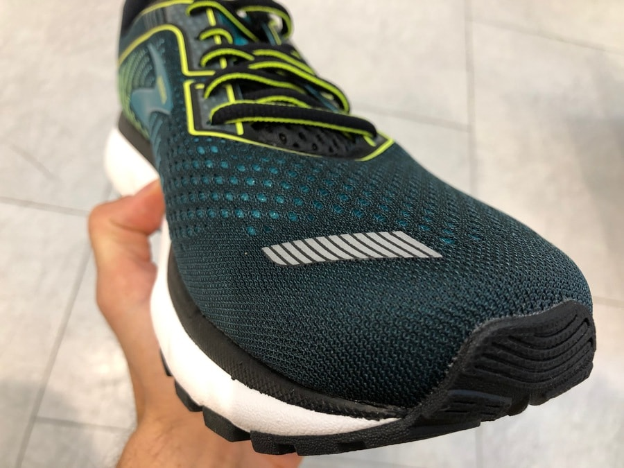 Neues, atmungsaktives Obermaterial im Brooks Ghost 12
